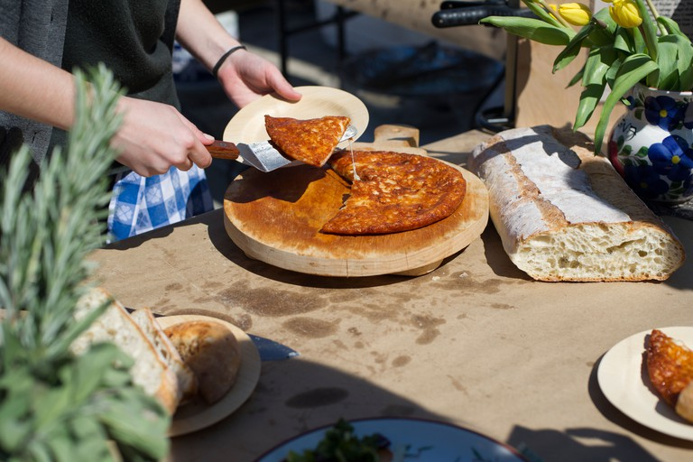 Foodies from around the city flock to the Smorgasburg in Williamsburg