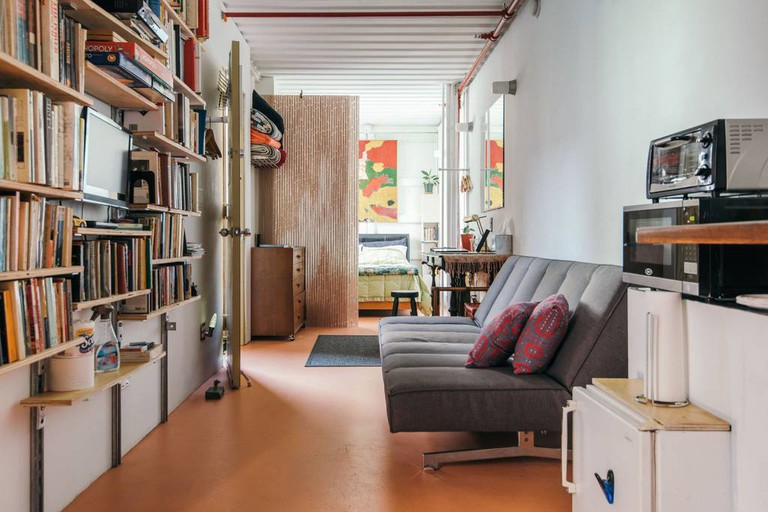 The shipping container home, Williamsburg