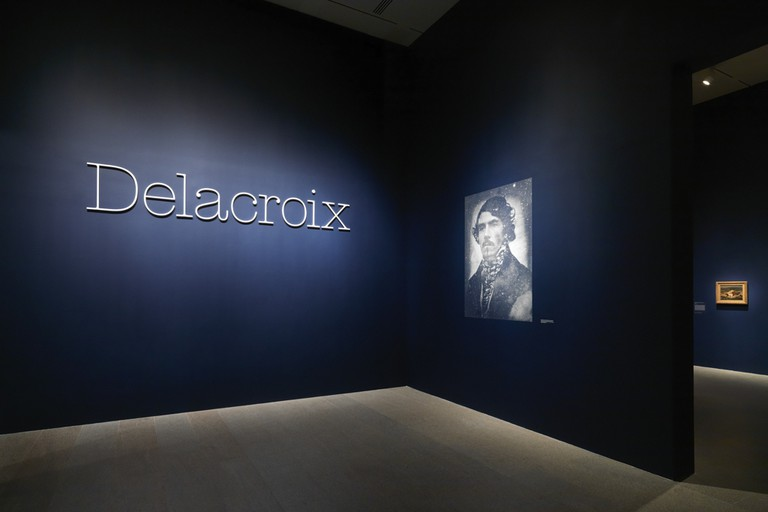 Eugene Delacroix exhibition at the MET in New York City, through January 6th, 2019.