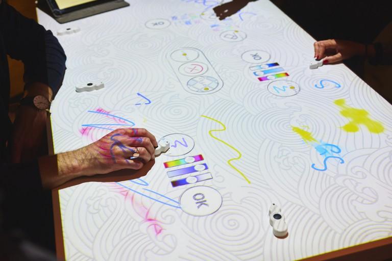 Inamo's interactive tables