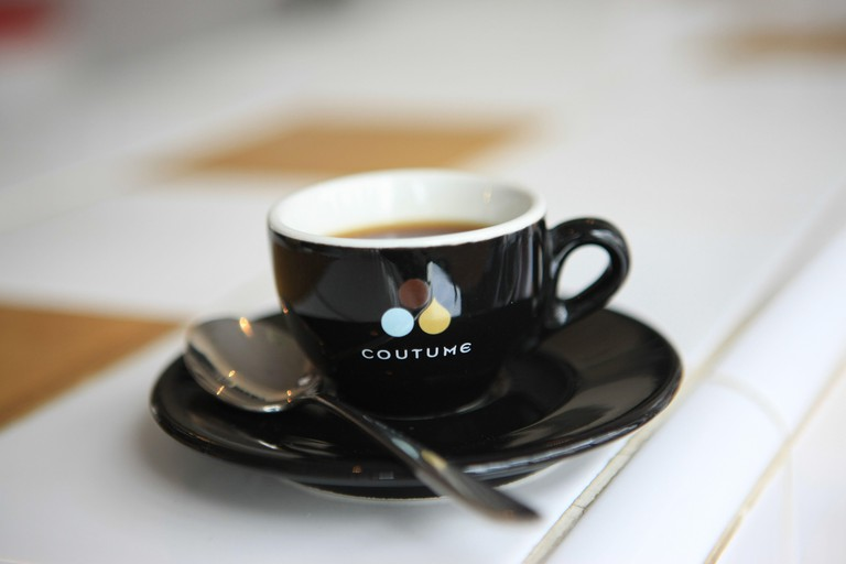 Cafe Coutume, Paris, France.