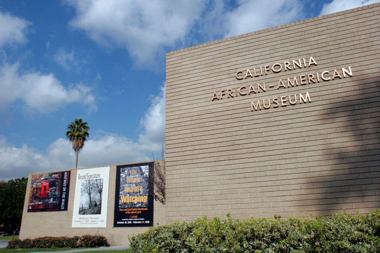 California African-American Museum, Exposition Park, Los Angeles, California, USA