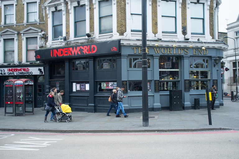 The Worlds End Pub and Underworld music venue in Camden, London