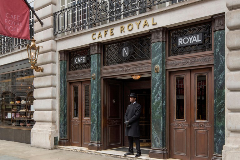The Hotel Café Royal offers afternoon tea in its Oscar Wilde Lounge