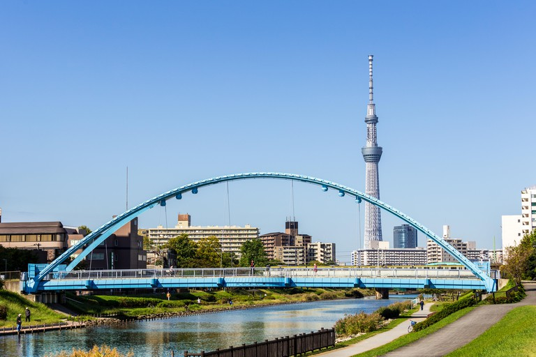 The Tokyo Skytree offers spectacular views and plenty of shopping