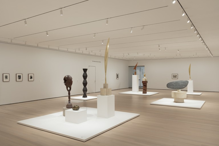 Installation view of Constantin Brancusi Sculpture, The Museum of Modern Art, New York, July 22, 2018–February 18, 2019 Photo: Denis Doorly