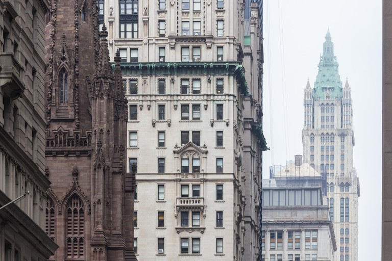 Woolworth building, Lower Manhattan