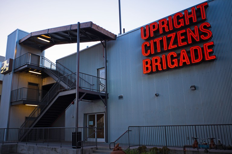 Upright Citizens Brigade Training Center, Los Angeles, California.