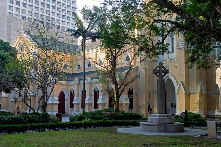 St Johns Cathedral Hong Kong