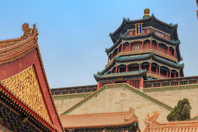 Roofs in the Summer Palace Beijing