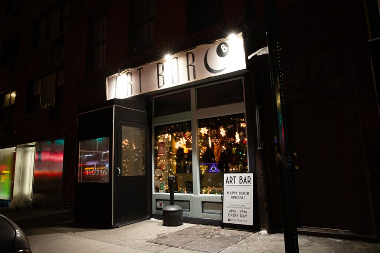 Art Bar is just short walk away from Greenwich Village