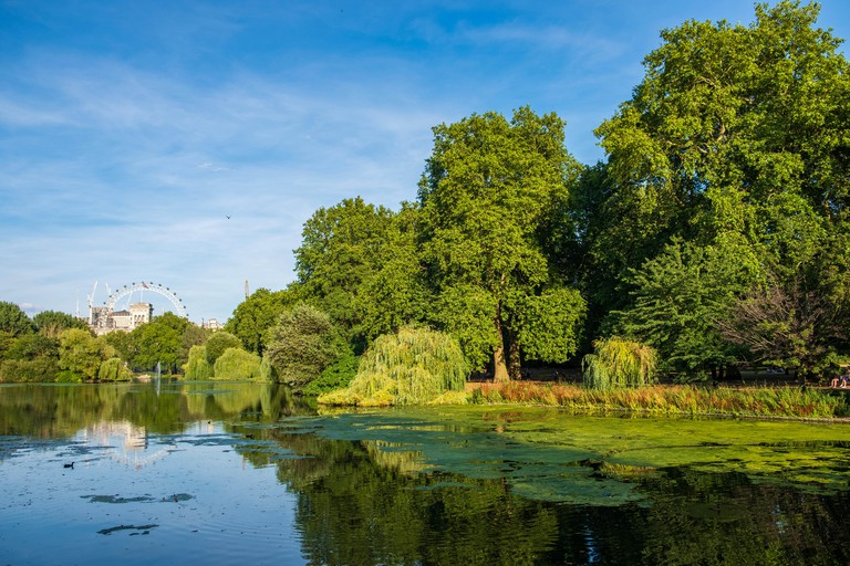 St James's Park is one of London's finest green spaces