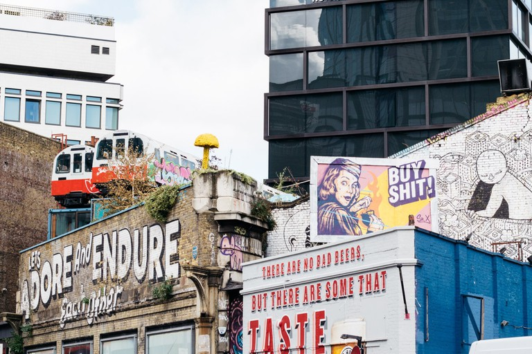 East London has been a hotbed for some of the world's best street artists