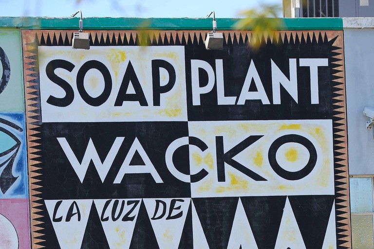 Wacko Soap Plant store sign