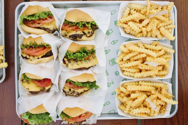 Shake Shack, New York.