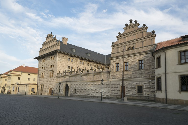 Schwarzenberg Palace, Prague.