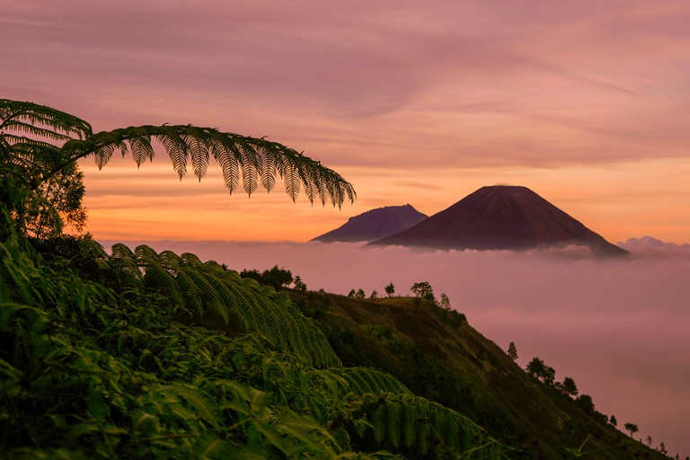Mount prau dieng wonosobo indonesia
