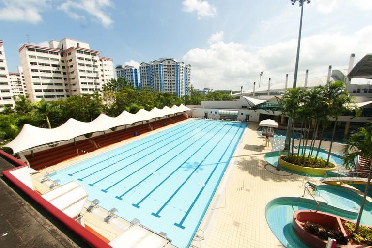 Singapore Choa Chu Kang Swimming Pool
