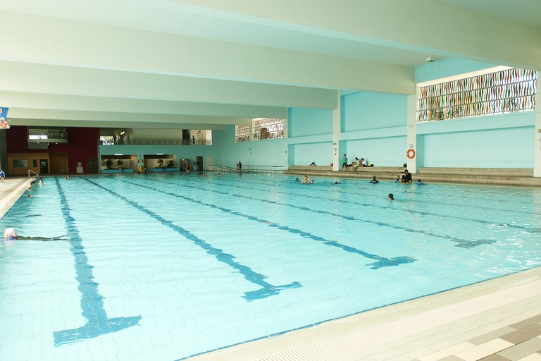 Singapore Sengkang Swimming Complex