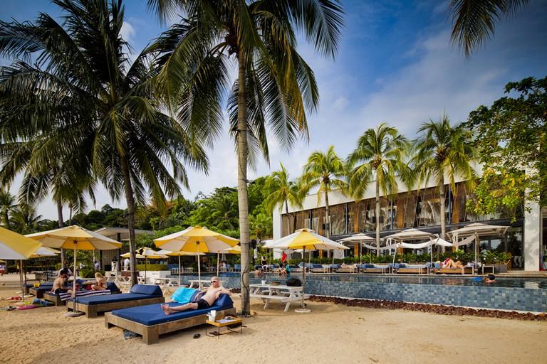 Singapore Tanjong Beach Club Pool