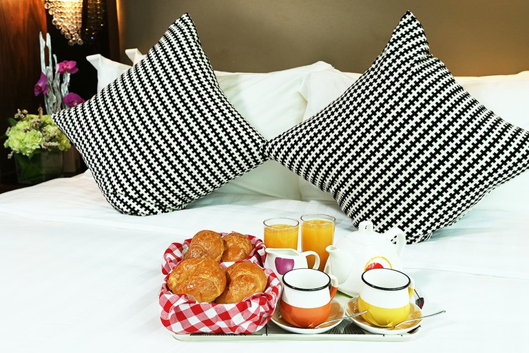 Enjoy breakfast in bed at Sohotel