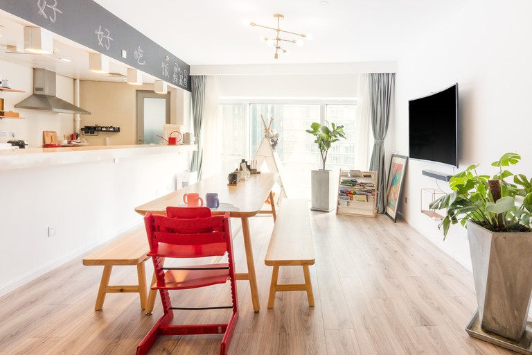 Sunny luxury apartment in central Beijing © Airbnb