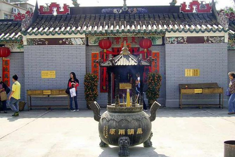 Tin Hau temples were built in honour of the Chinese goddess of the sea