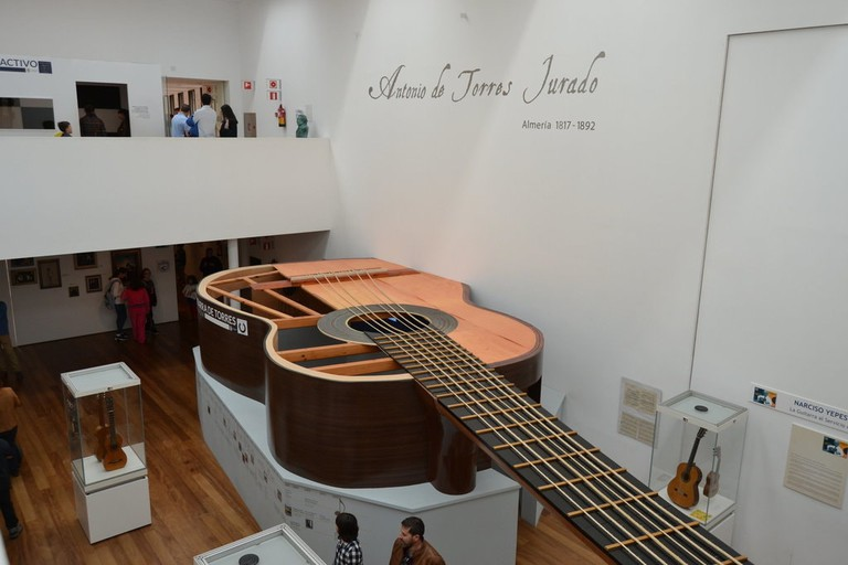 the Guitar Museum, Almería