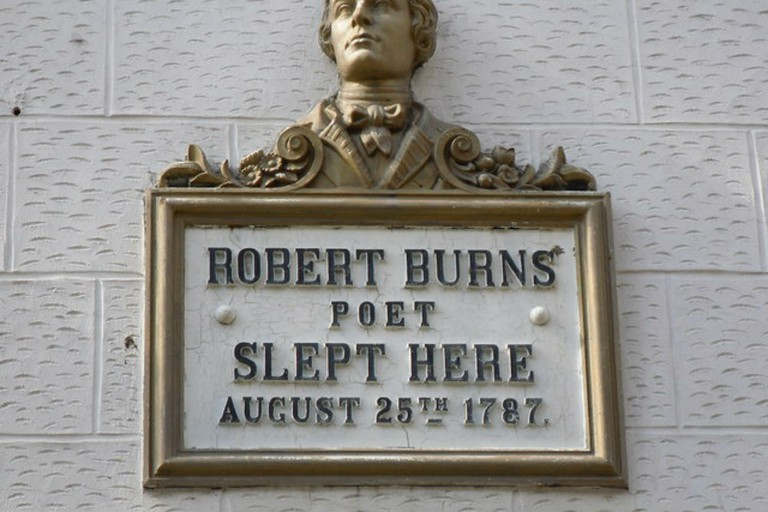 Robert Burns Plaque