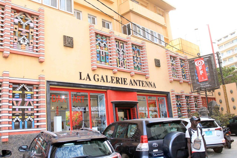 La Gallerie Antenna is the oldest gallery in west Africa