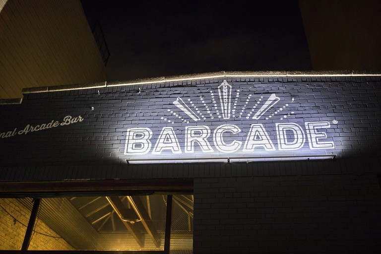 Barcade in Williamsburg, Brooklyn.