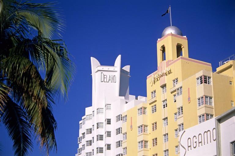 Delano Hotel, Miami Beach.