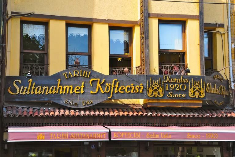 The Sultanahmet Koftecisi restaurant