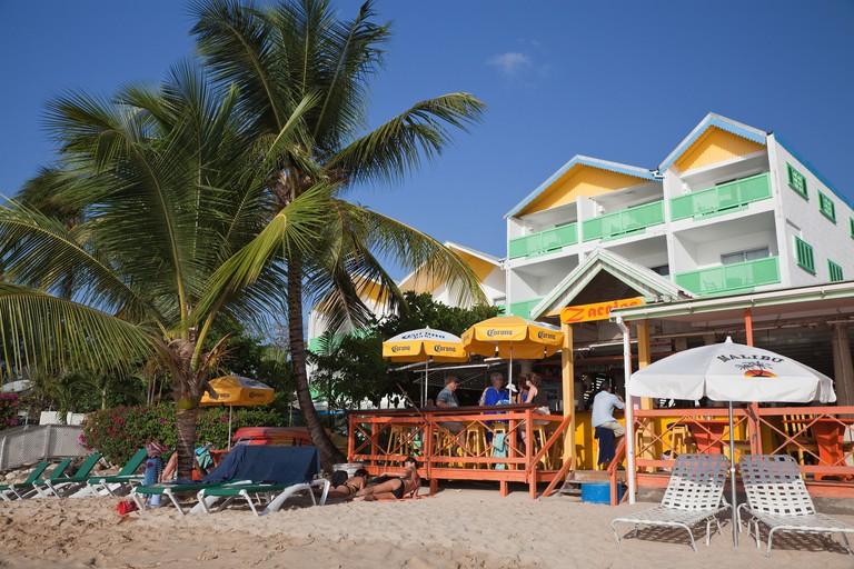 Zaccios Bar restaurant, West Coast, Barbados.