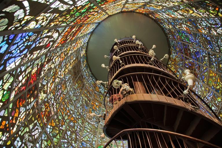 """""""Symphonic Sculpture"""" by Gabriel Loire - The Hakone Open Air Museum"""