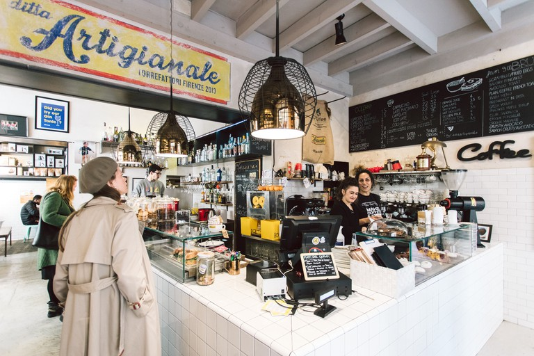 Ditta Artigianale sells a selection of beans to take home and brew yourself