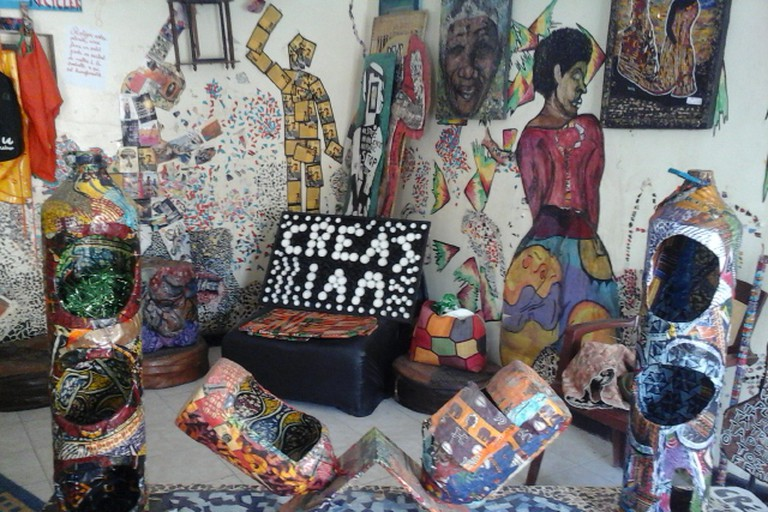 Créas I am was set up to be a cultural space for budding artists