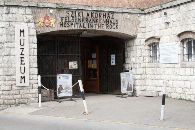 Hospital in the Rock, Budapest, Hungary
