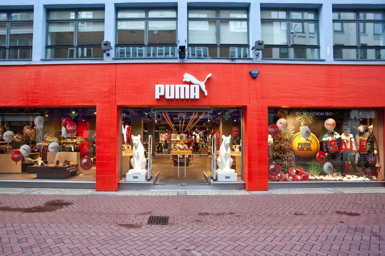 Puma Store, Carnaby Street, London, England, UK