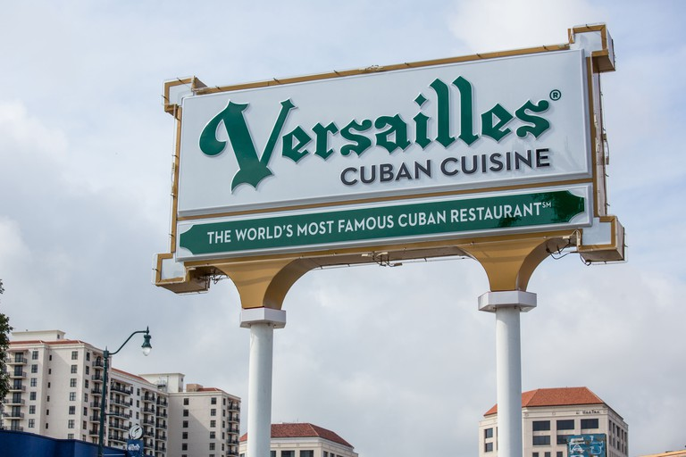 Versailles Cuban Restaurant, Miami, Florida.