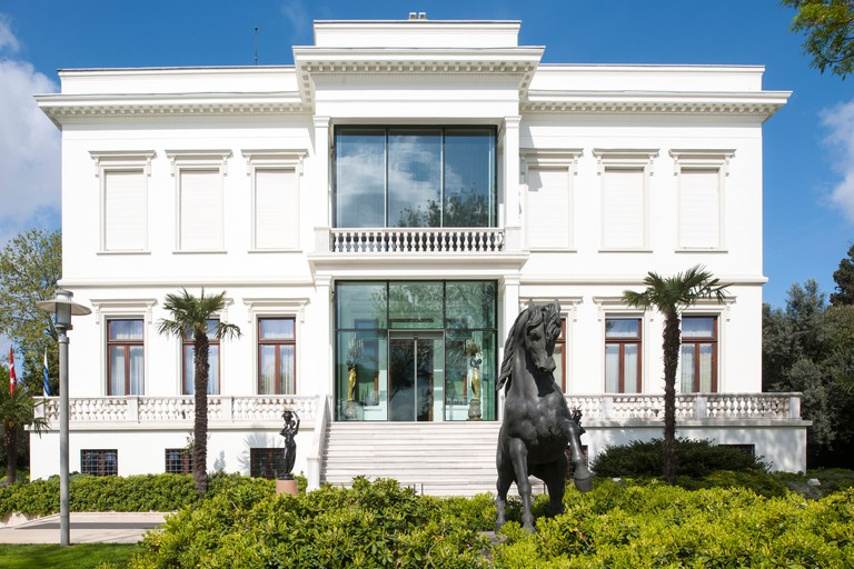 Stroll through the Sakıp Sabanci Museum's vast grounds before taking in the world-class art inside