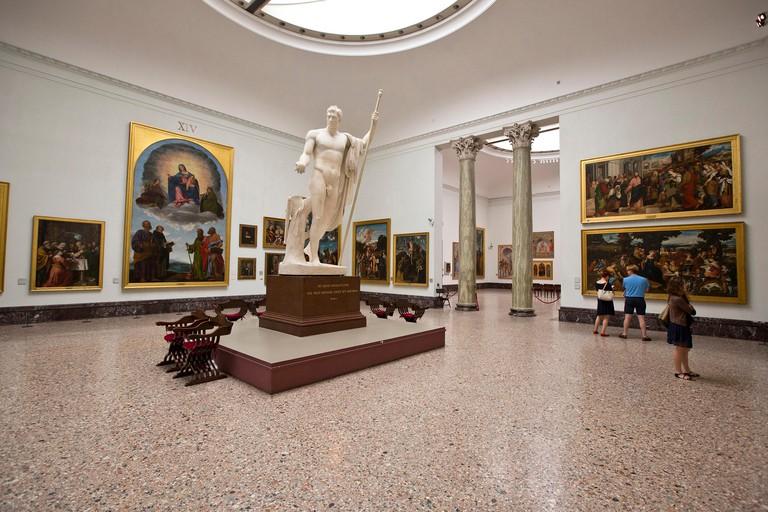 Pinacoteca di Brera museum, Milan, italy