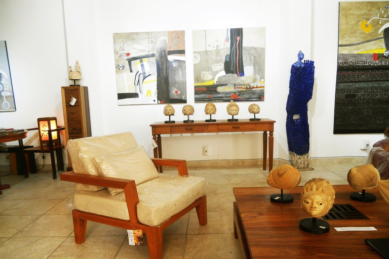 Galerie Arte is one of the oldest contemporary art and design galleries in Senegal