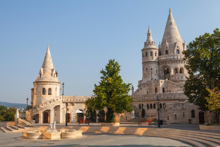 The historic Fisherman's Bastion