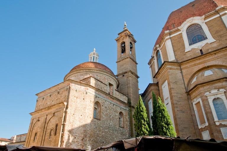 Basilica di San Lorenzo in Florence, Italy