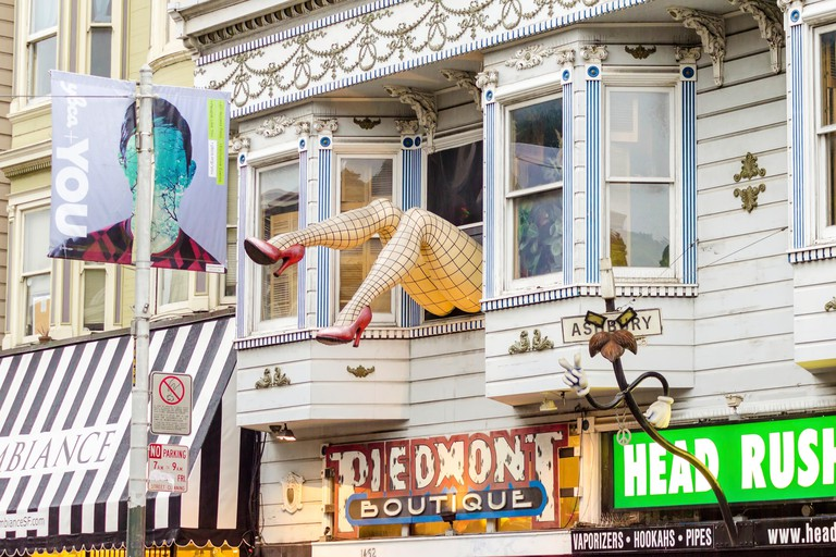 Haight Ashbury neighbourhood in San Francisco.