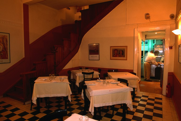 Vlassis restaurant interior