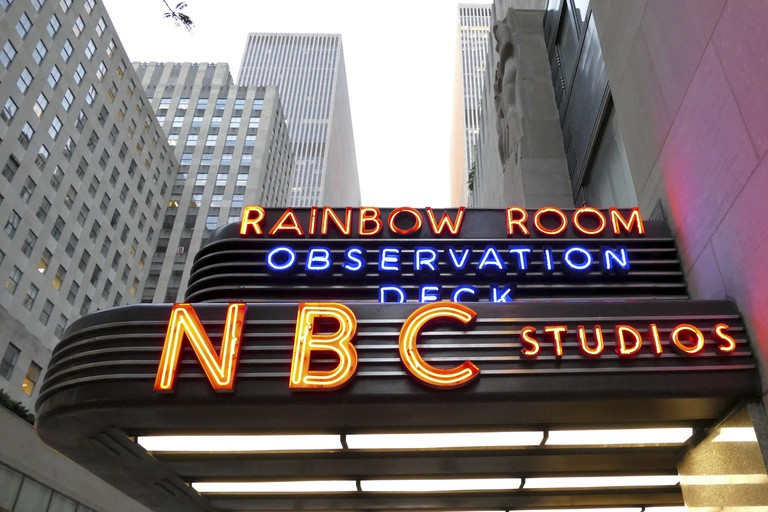 The world headquarters for NBC News, the Saturday Night Live studios and the Rainbow Room.