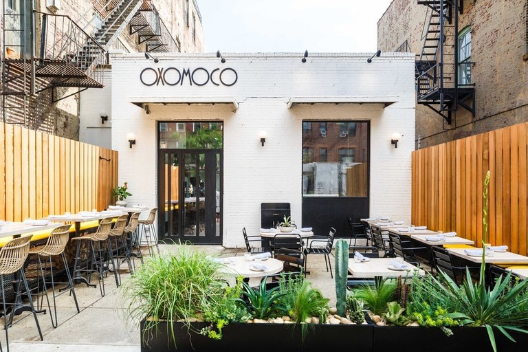 Oxomoco serves a range of Mexican dishes
