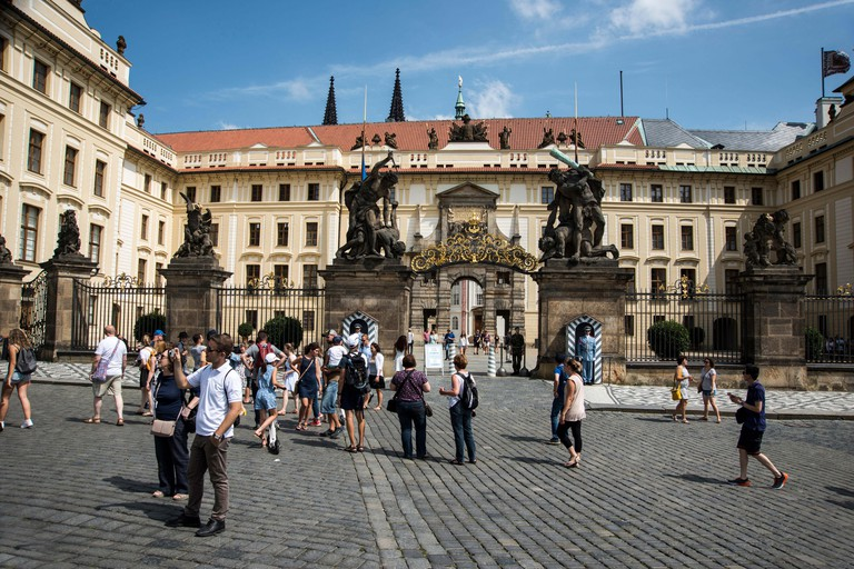 Entry to Prague Castle
